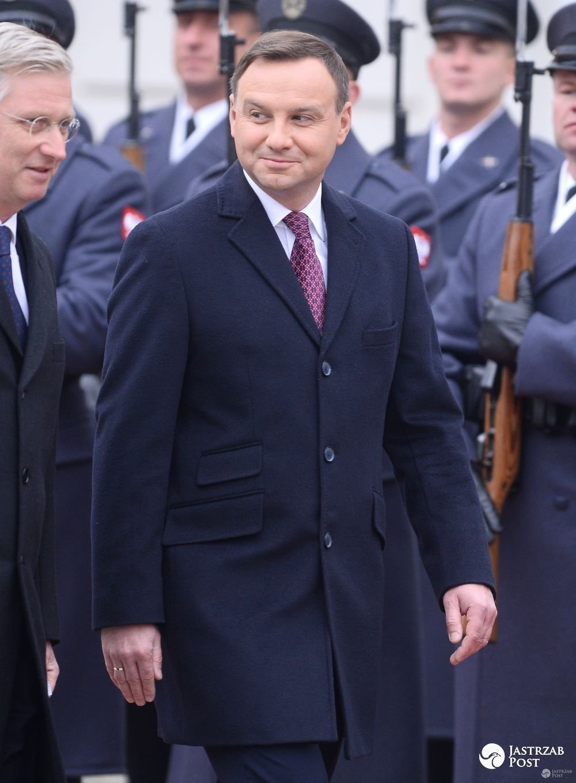 Z kim Andrzej Duda rozmawiał w nocy na Twitterze?