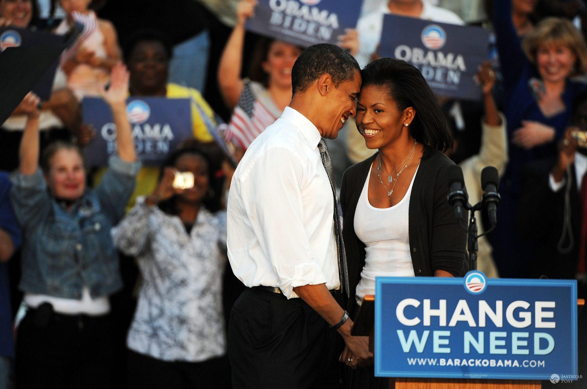 Barack Obama i Michelle Obama w 2008 roku (fot. ONS)