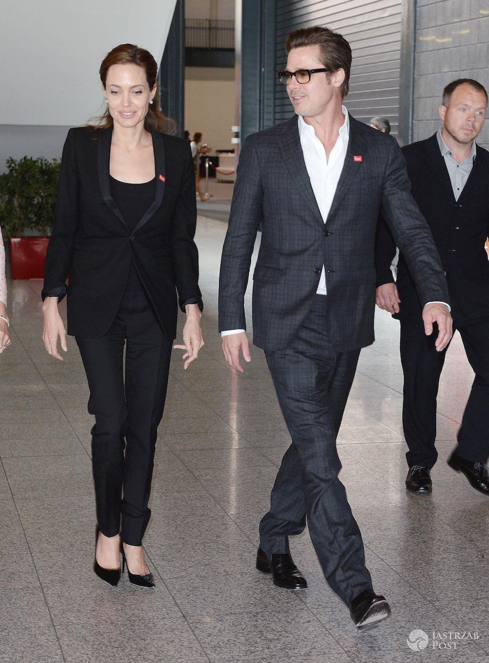Brad Pitt i Angelina Jolie rozwodzą się