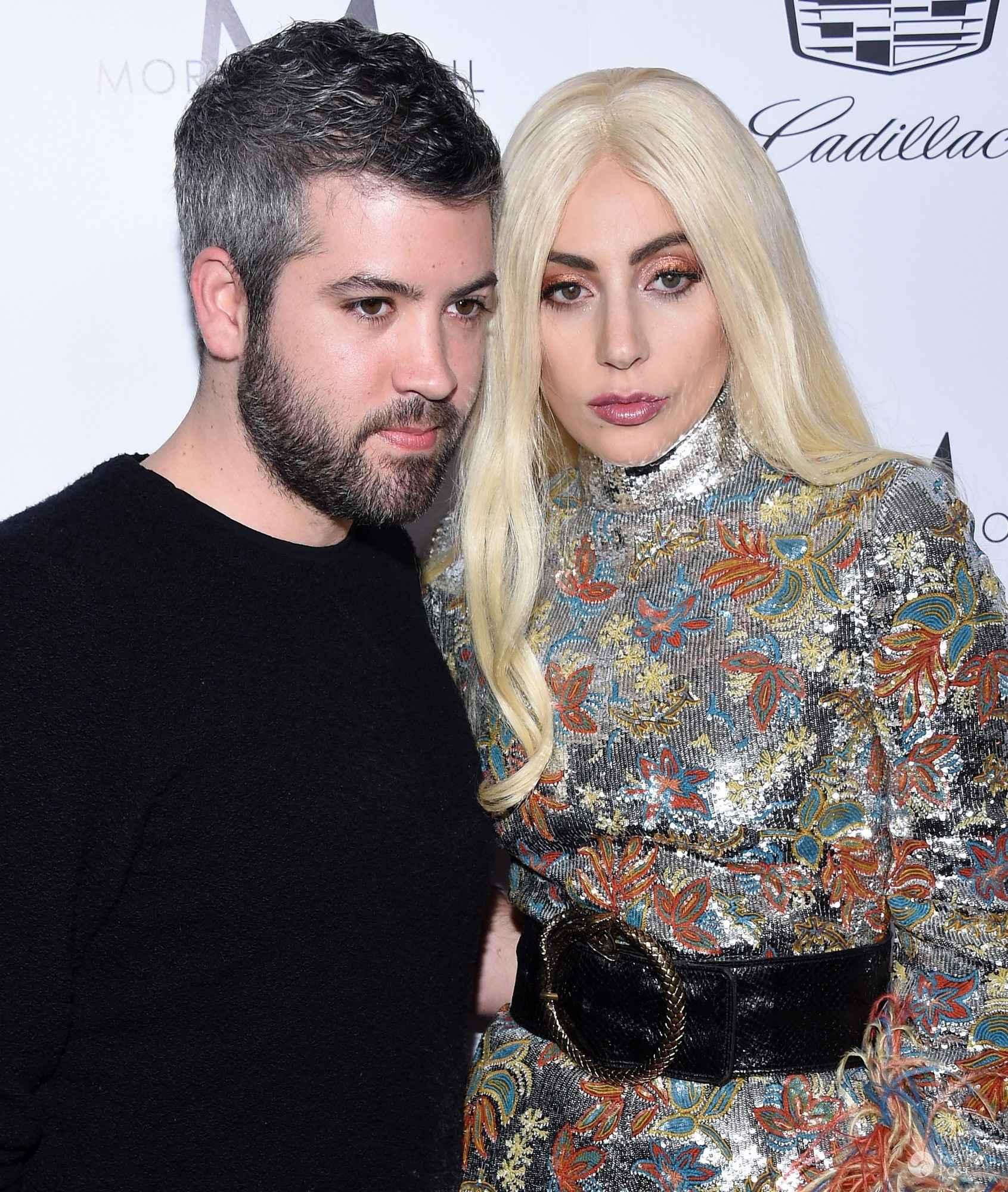 Brandon Maxwell i Lady Gaga, rozdanie nagród The Daily Front Rows Fashion LA Awards 2016 (fot. ONS)