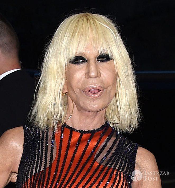 Nowa fryzura Donatelli Versace, MET Gala 2016 (fot. ONS)