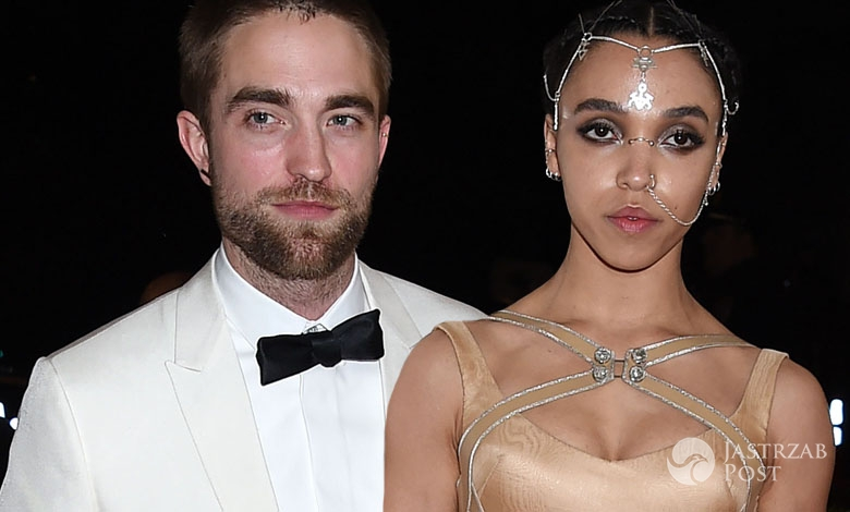 Rober Pattinson i jego dziewczyna FKA Twigs (fot. ONS)