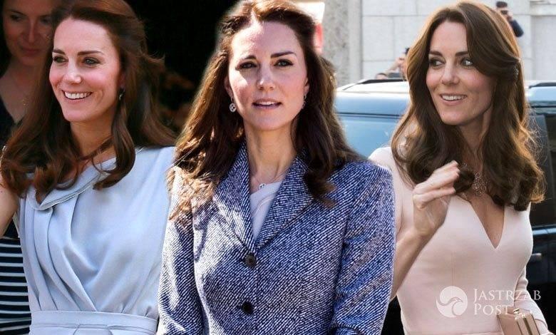 Trzy stylizacje księżnej Kate