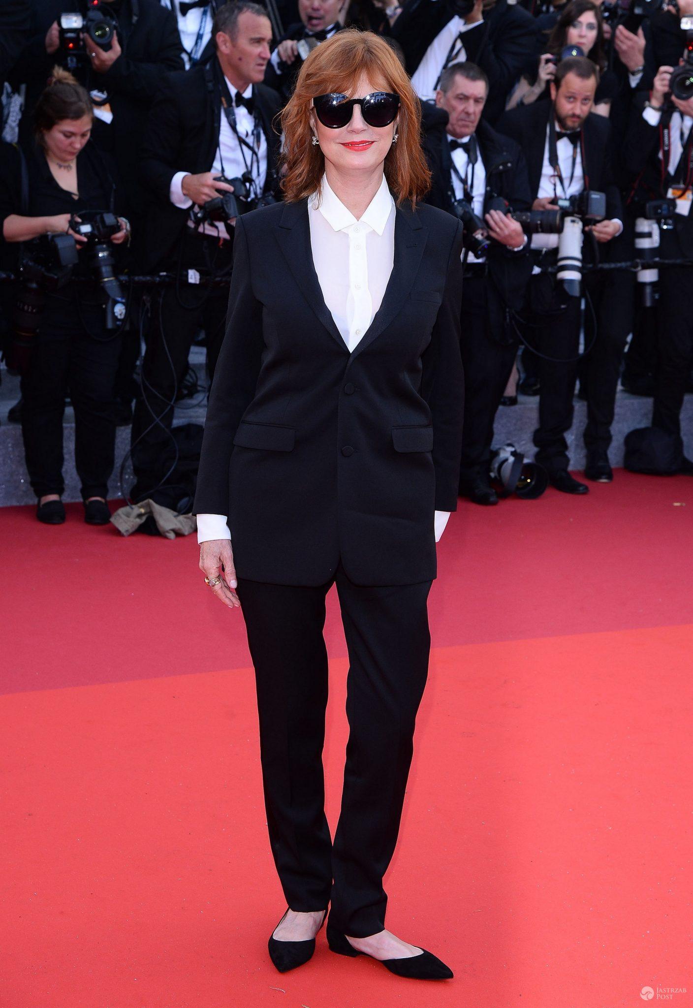 Gala otwarcia Cannes 2016: Susan Sarandon (fot. ONS)