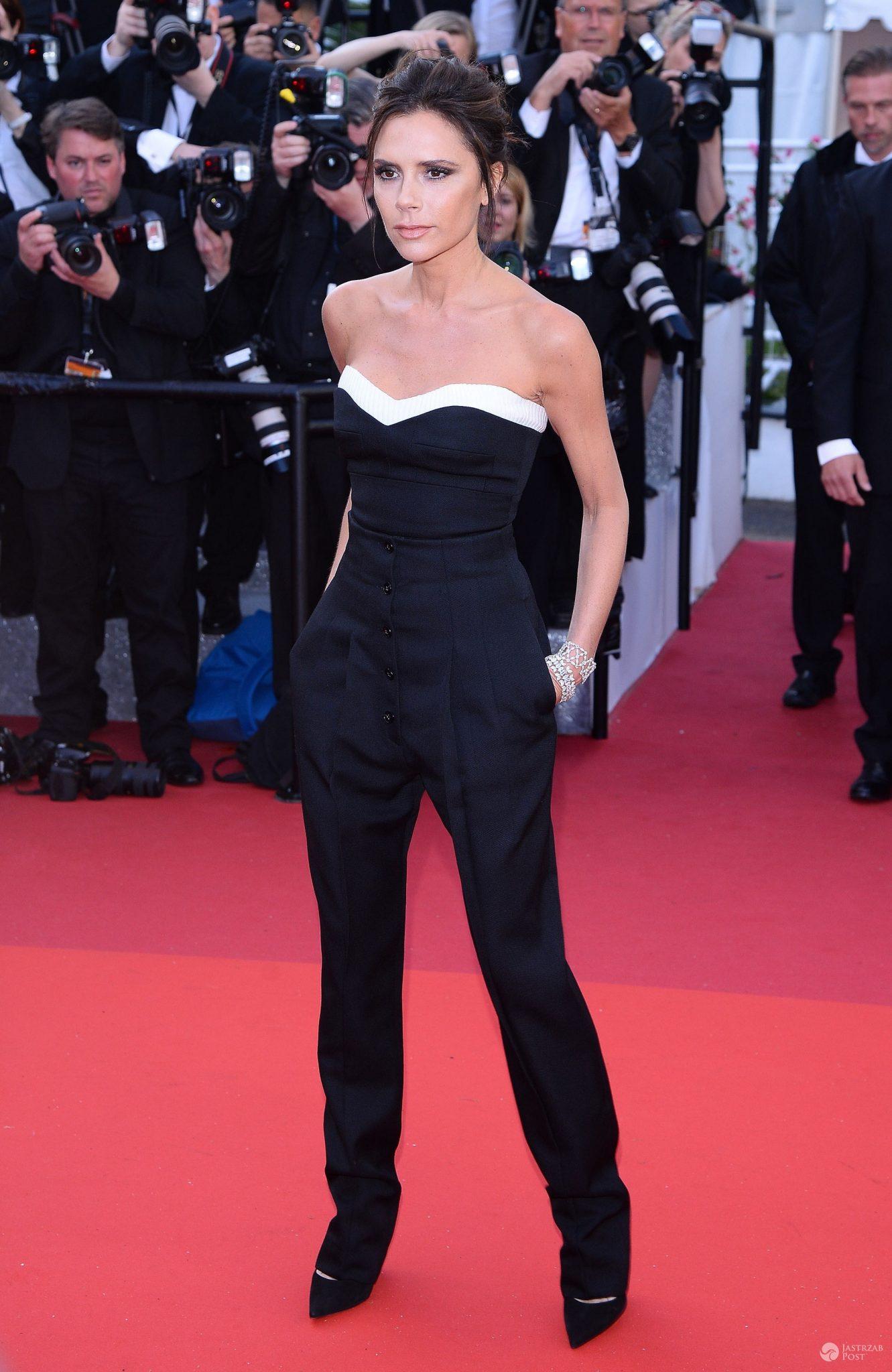 Victoria Beckham w dopasowanych ciuchach - czy nie schudła?