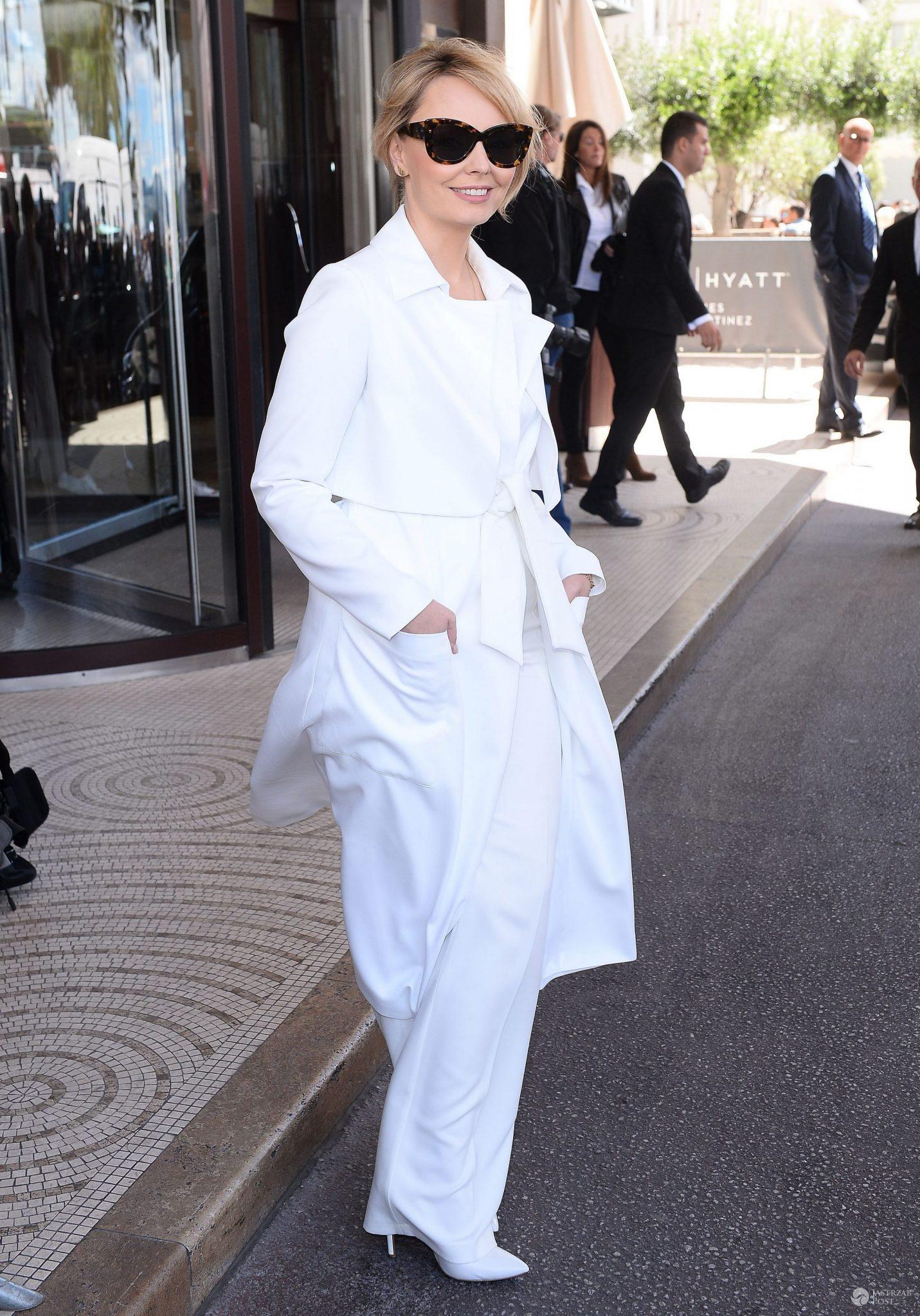 Kreacja: Marlu. Agnieszka Jastrzębska na festiwalu w Cannes 2016 (fot. ONS)