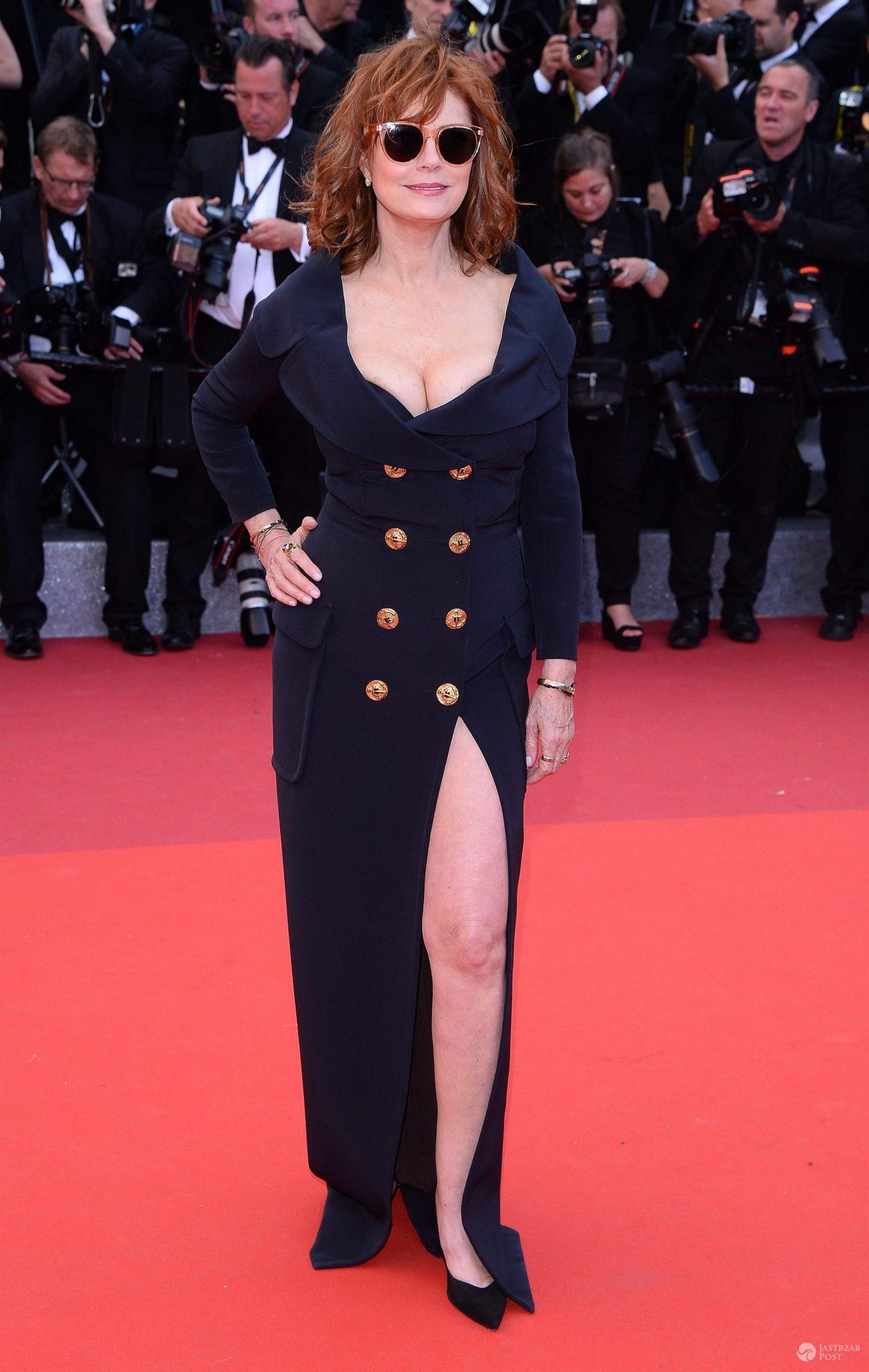 "Susan Sarandon, premiera ""Money Monster"", festiwal w Cannes 2016 (fot. ONS)"