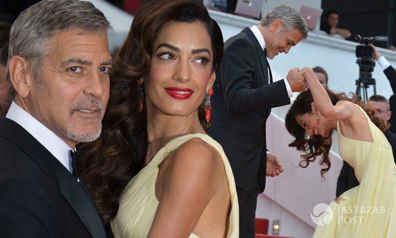 Wpadka Amal Clooney festiwalu w Cannes 2016 (fot. ONS)