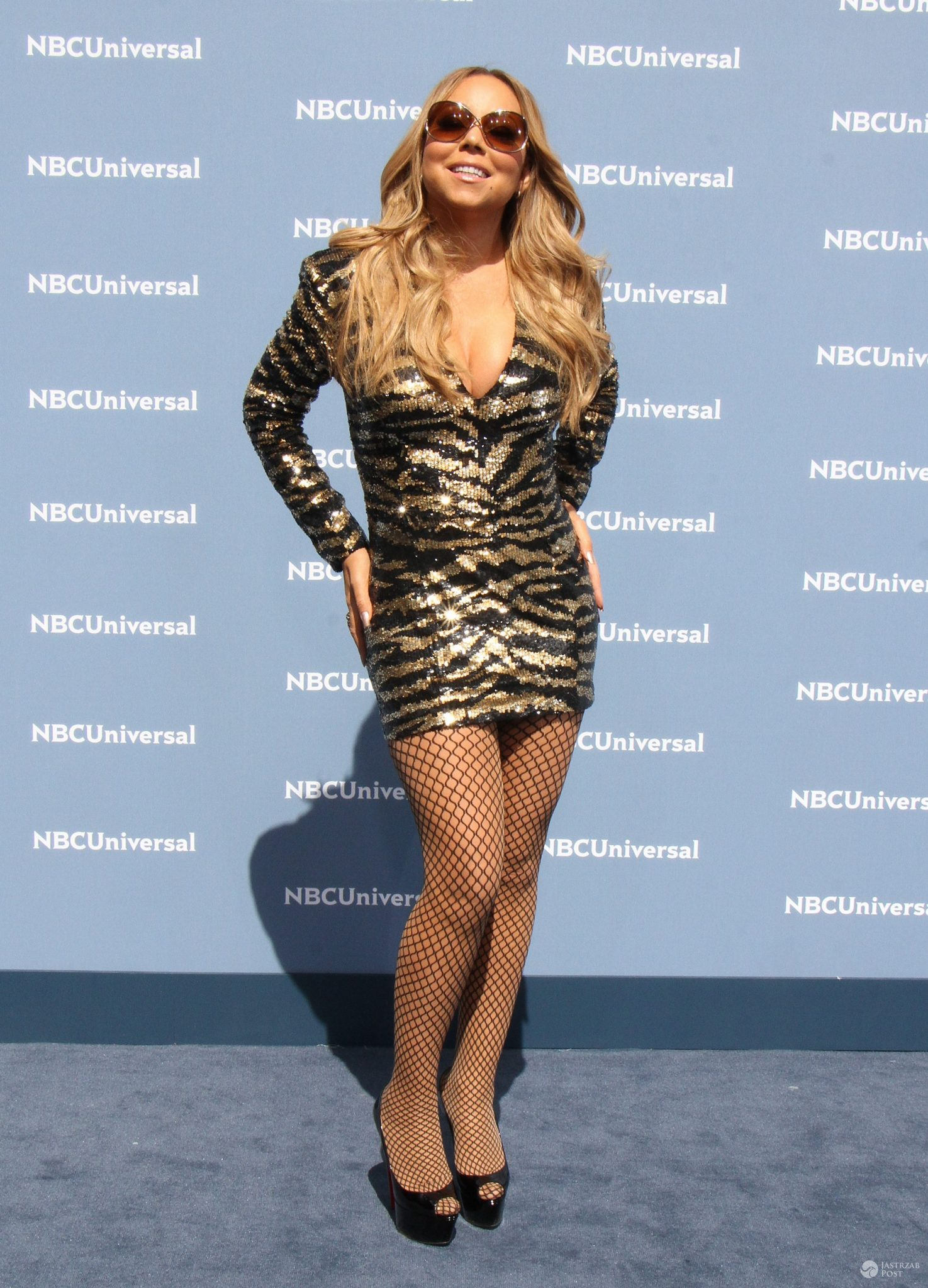Mariah Carey, NBCUniversal 2016 Upfront (fot. ONS)