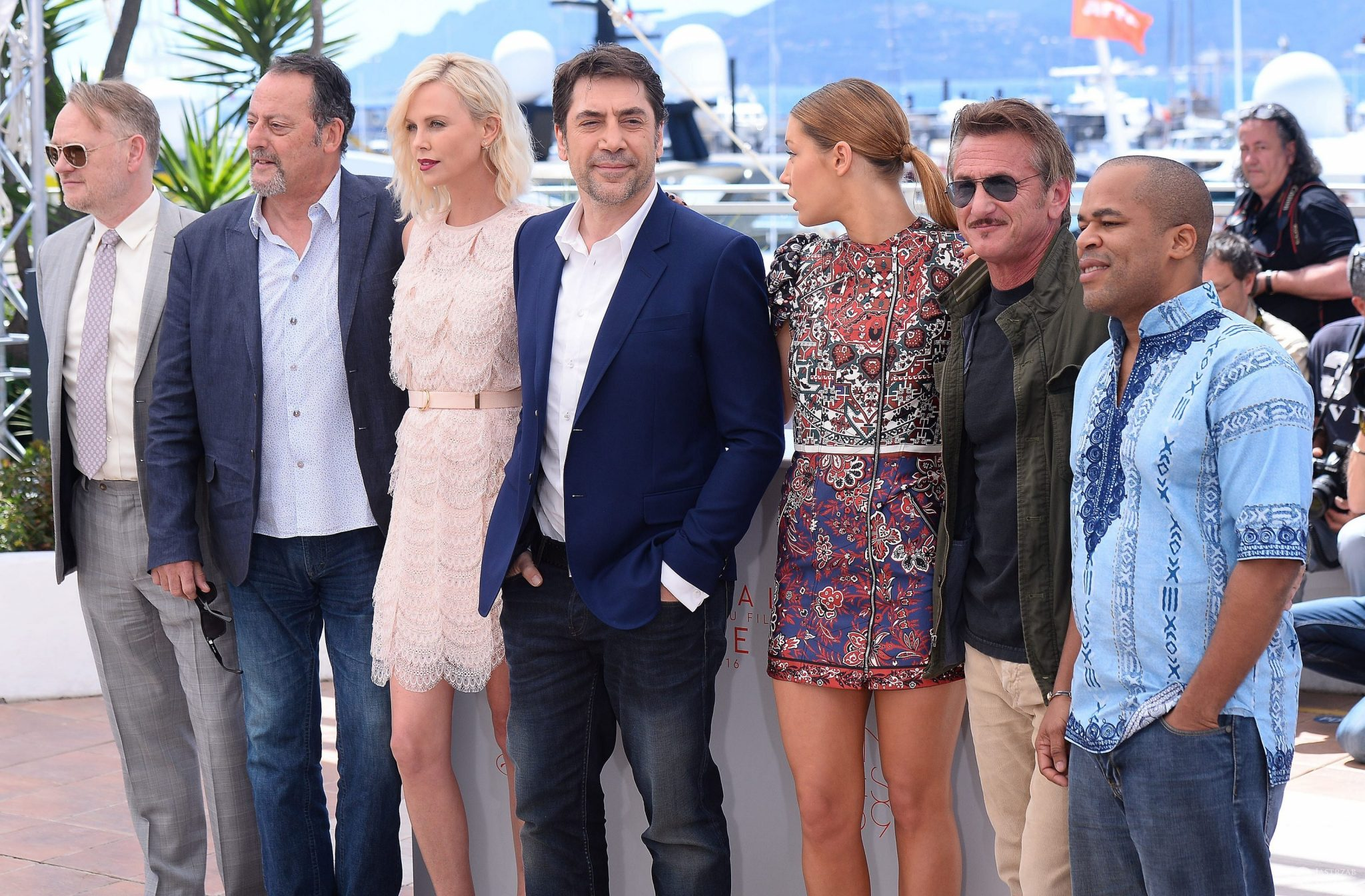 "Ekipa filmu ""The Last Face"" na festiwalu w Cannes 2016 (fot. ONS)"