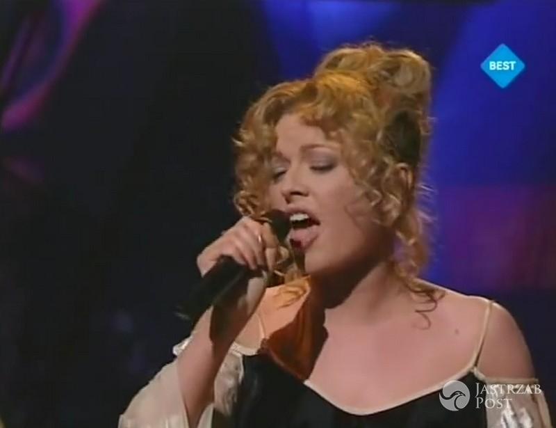 Niezapomniane kreacje polskich gwiazd na Eurowizji: Anna Maria Jopek, Eurowizja 1997