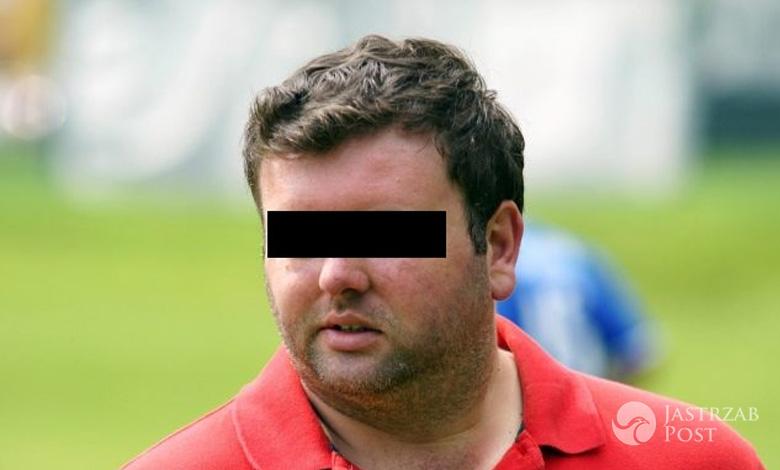 Robert Sz, syn wiceministra sportu aresztowany fot. katowickisport.pl