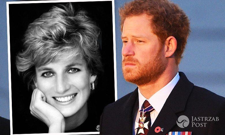 Książę Harry wspomina księżną Dianę