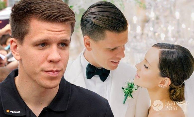 Wojciech Szczęsny, Marina Łuczenko wpadka na ślubie