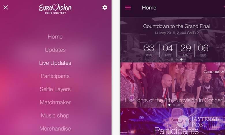 Aplikacja eurowizja 2016 jak pobrać, za ile, za darmo, jak głosować