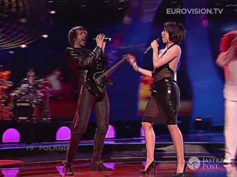 Niezapomniane kreacje polskich gwiazd na Eurowizji: Blue Cafe, Eurowizja 2004