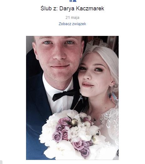 Daria Zawiałow i Tomasz Kaczmarek są małżeństwem