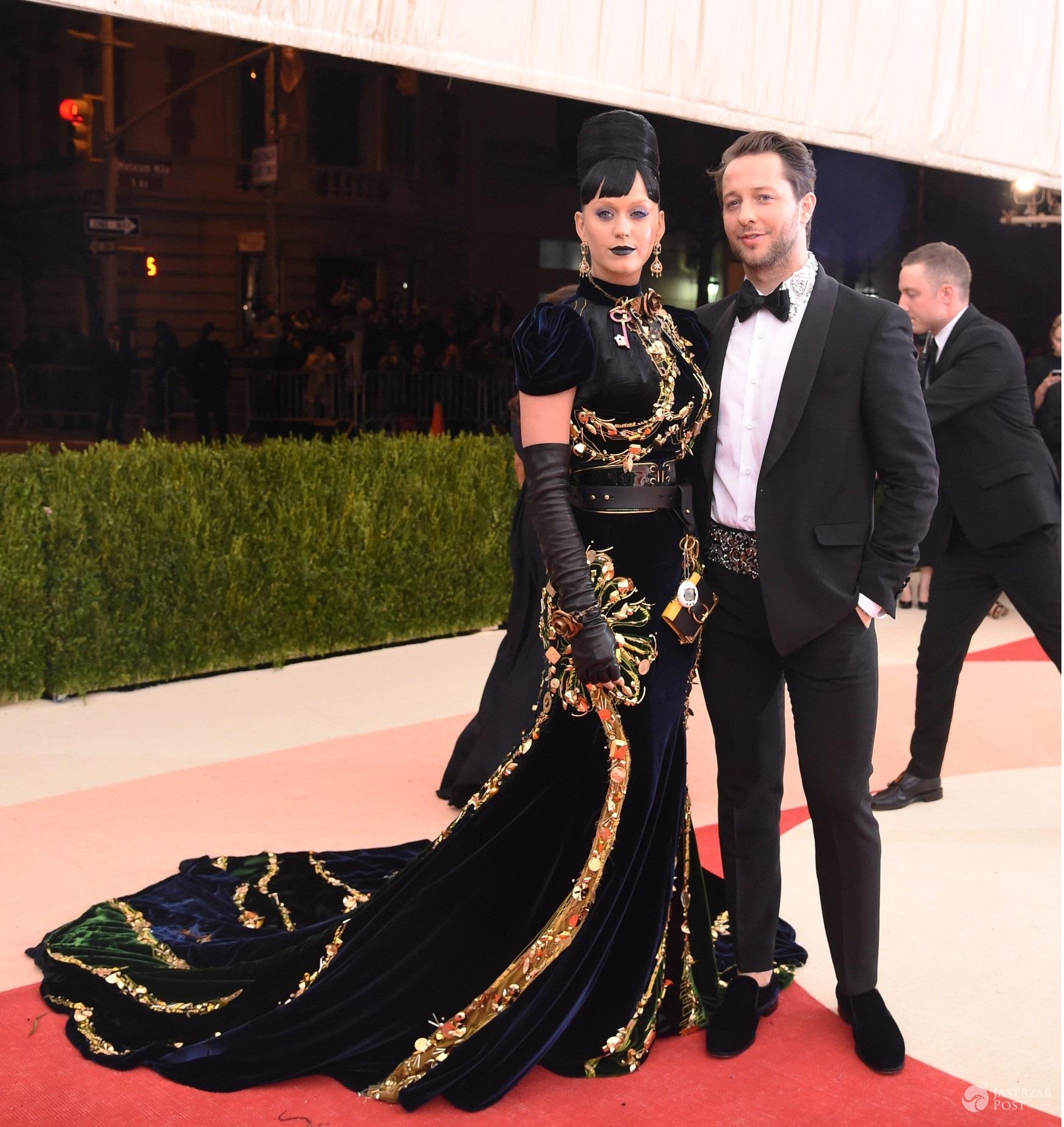Katy Perry i Derek Blasberg - MET Gala 2016