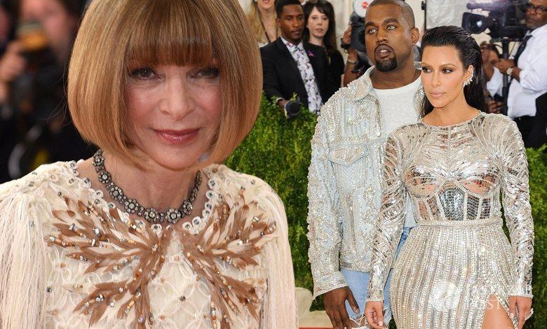 Anna Wintour do Kim Kardashian i Kanye Westa (fot. East News)