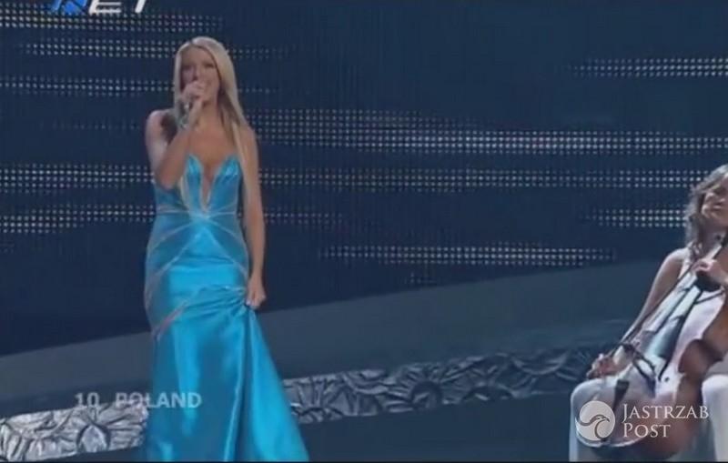 Niezapomniane kreacje polskich gwiazd na Eurowizji: Isis Gee, Eurowizja 2008
