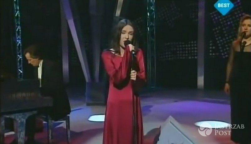 Niezapomniane kreacje polskich gwiazd na Eurowizji: Kasia Kowalska, Eurowizja 1996