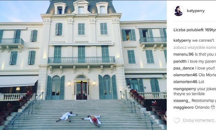 Katy Perry i Orlando Bloom w Cannes