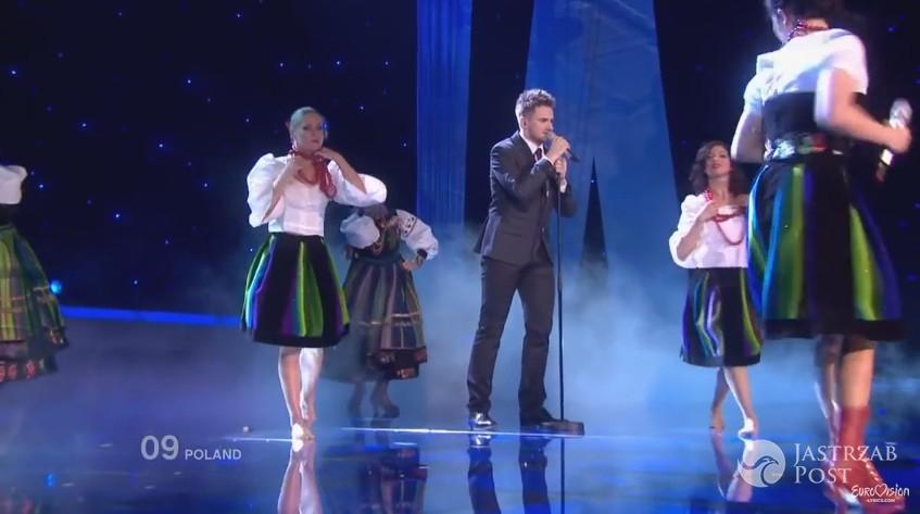 Niezapomniane kreacje polskich gwiazd na Eurowizji: Marcin Mroziński, Eurowizja 2010