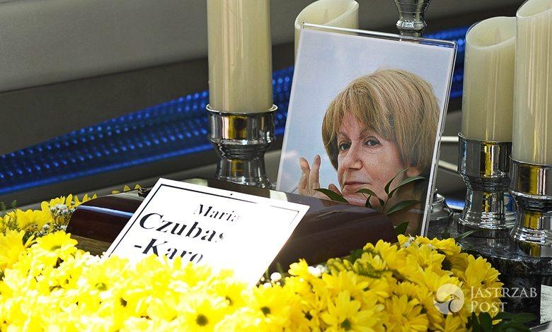Maria Czubaszek pogrzeb