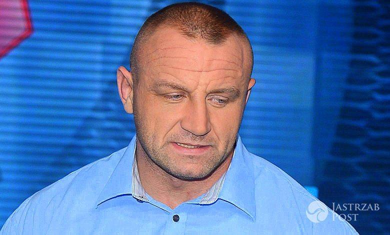 Mariusz Pudzianowski pogryziony przez psa