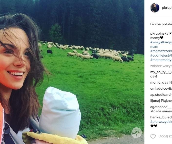 Paulina Krupińska pokazała zdjęcie z córką