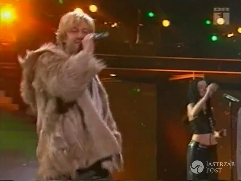 Niezapomniane kreacje polskich gwiazd na Eurowizji: Piasek, Eurowizja 2001