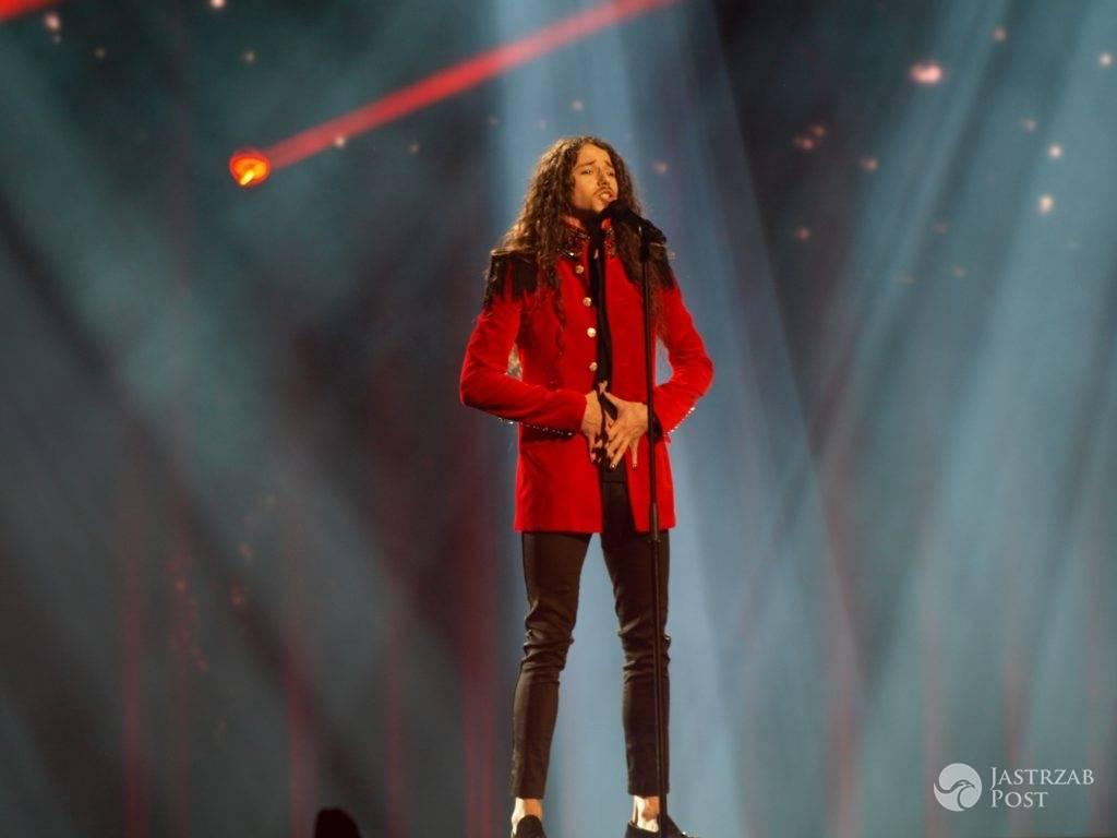 Michał Szpak na Eurowizji 2016 - przedostatni u jurorów