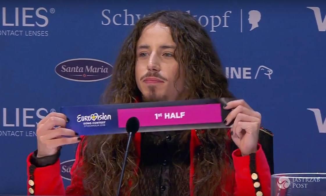 Polska wystąpi jako 12. w finale Eurowizji 2016