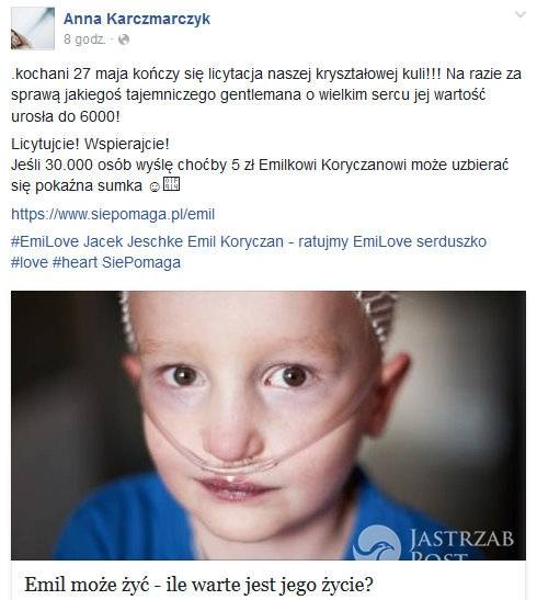 Anna Karczmarczyk (fot. Facebook)