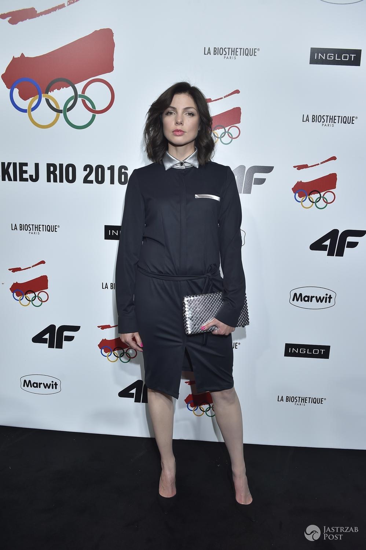 Karolina Gorczyca - pokaz kolekcji olimpijskiej RIO 2016