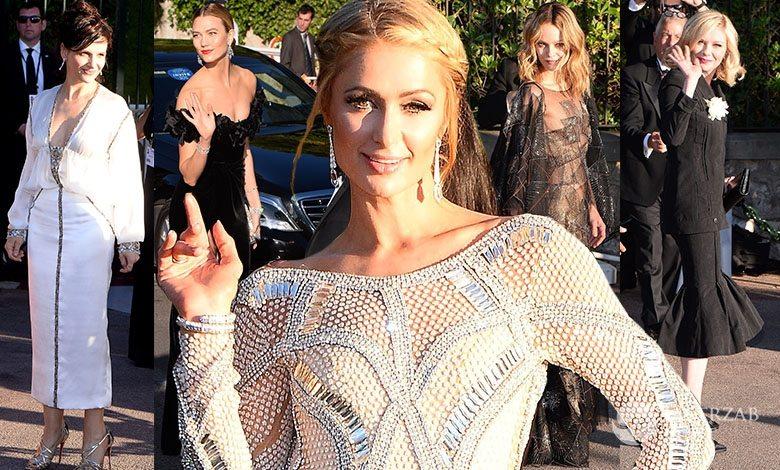 Gwiazdy na gali amfAR Cannes 2016