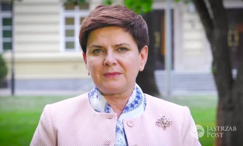 Beata Szydło składa życzenia na Dzień Matki