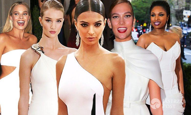 MET Gala 2016 białe suknie