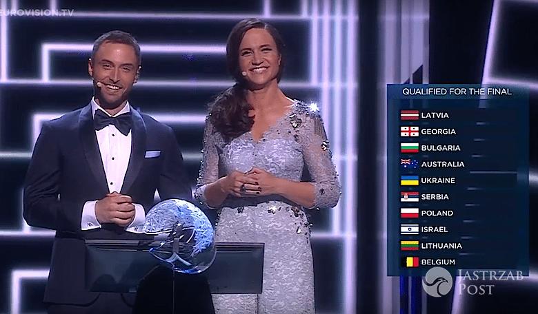Wyniki drugiego półfinału Eurowizji 2016