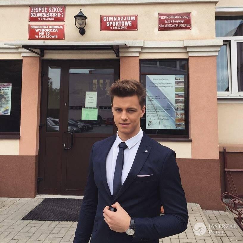 Rafał Jonkisz zdaje maturę