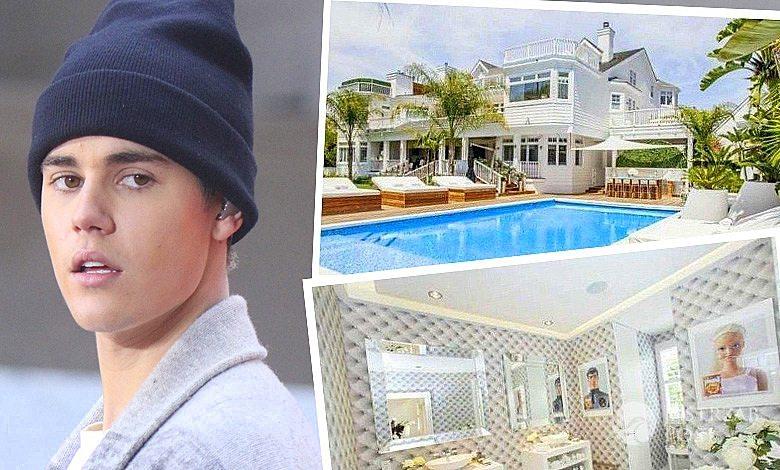 Jak mieszka Justin Bieber? zdjęcia domu gwiazdy