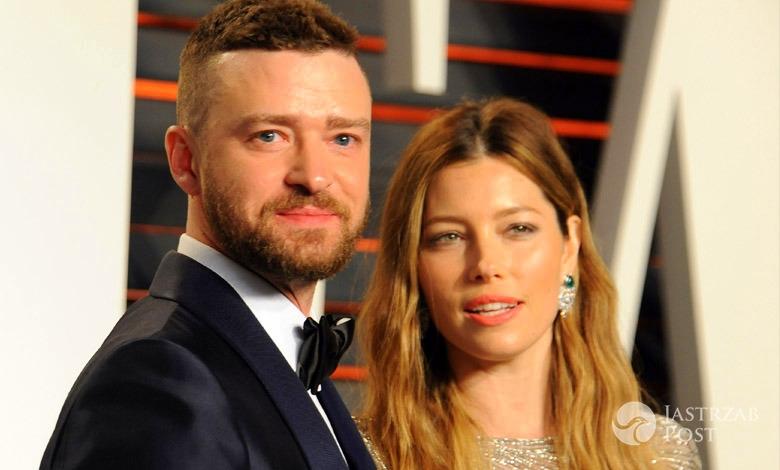Justin Timberlake i Jessica Biel zdjęcie syna Silasa