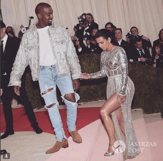 Kanye West i Kim Kardashian na MET Gala 2016/ Instagram Kim Kardashian