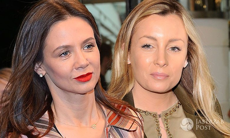 Kinga Rusin i Karolina Ferenstein-Kraśko razem na koniach