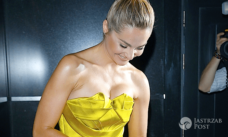 Małgorzata Socha w staniku w Elle