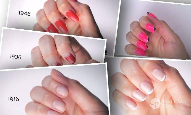manicure w 100 lat
