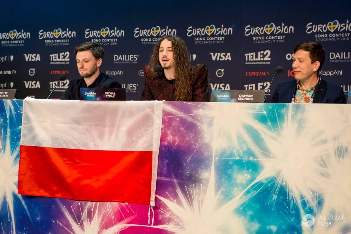 Konferencja Michała Szpaka na Eurowizji 2016