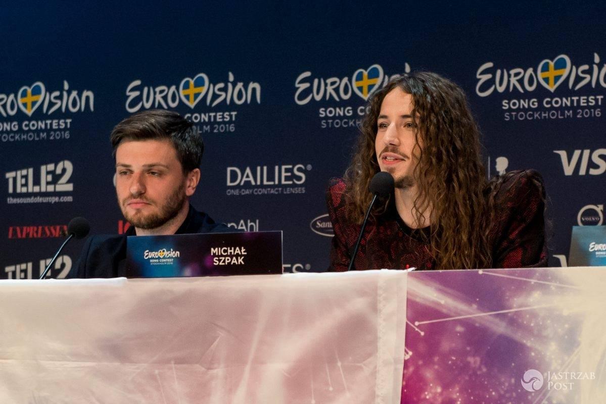 Michał Szpak o Edycie Górniak na konferencji na Eurowizji 2016