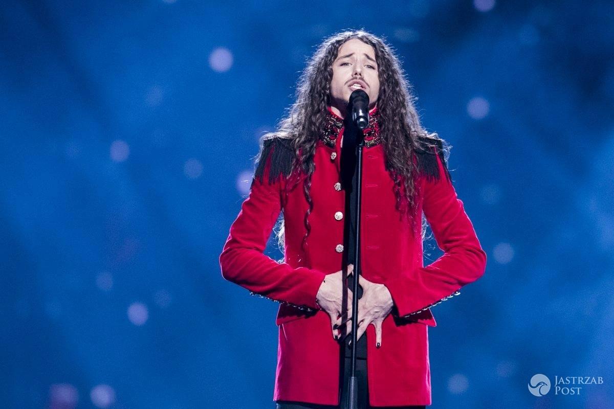 Michał Szpak występ na Eurowizji 2016