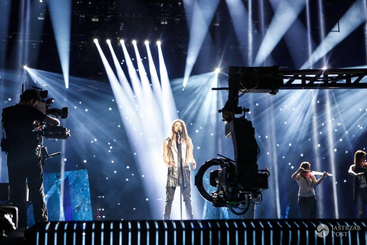 Michał Szpak na próbie przed Eurowizją 2016